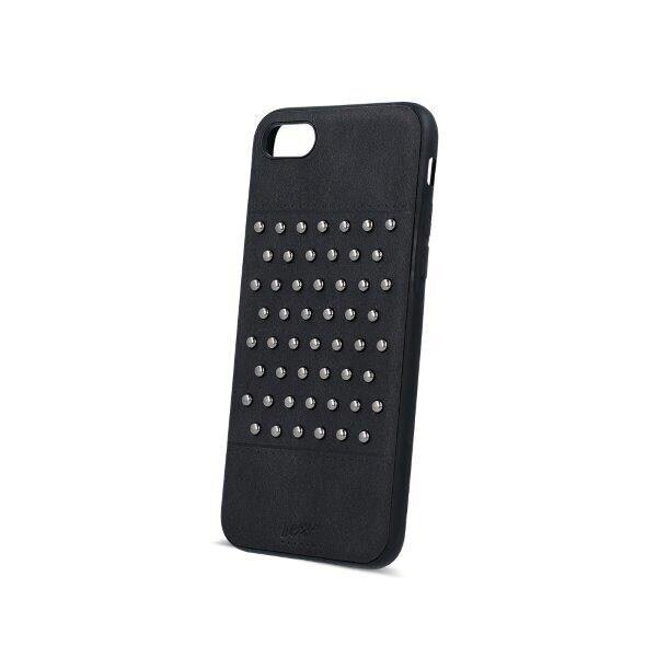 Apple Beeyo Matkapuhelimen kuori niiteillä iPhone 7 / iPhone 8 Musta