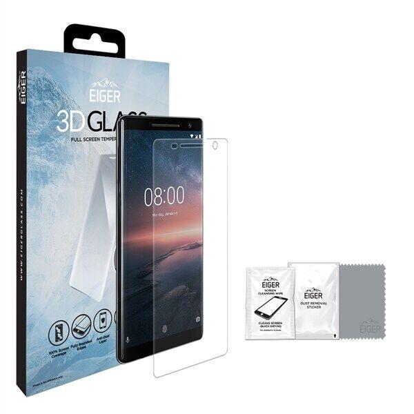 Nokia Eiger 3D Tempered Glass Nokia 8 Sirocco
