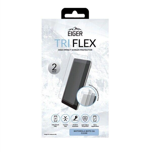 Motorola Eiger Tri Flex Näytönsuoja Motorola Moto G6