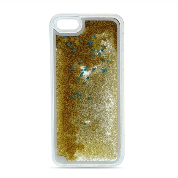 Apple Liquid Glitter Takakuori iPhone X/XS Kulta
