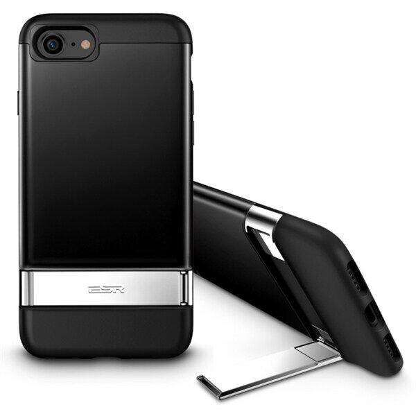 Apple ESR Urbansoda Takakuori telineellä iPhone 8 / 7 Musta