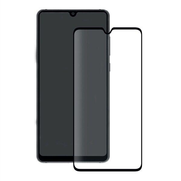 24hshop Eiger 3D Näytönsuoja Lasia Huawei Mate 20 Kirkas/Musta