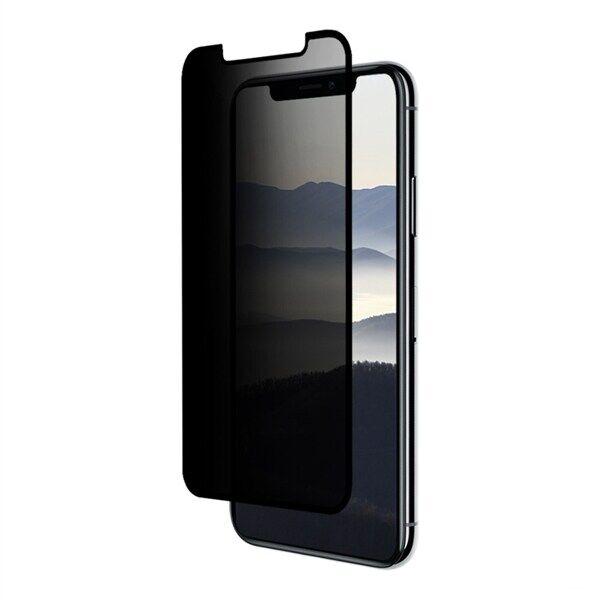 Apple Eiger Privacy Näytönsuoja Lasia iPhone XS/X Kirkas / Musta