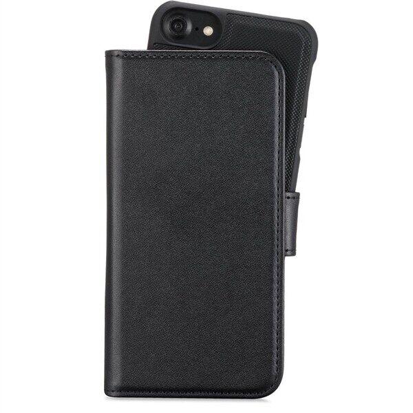 Apple Lompakkokotelo magneetti MUSTA iPhone 6/6s/7/8