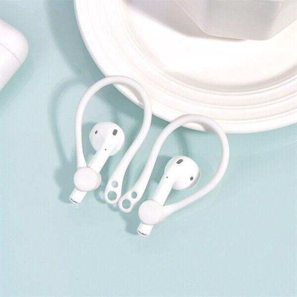 Apple Silikonisanka sport Apple AirPods 1 / 2 - Valkoinen