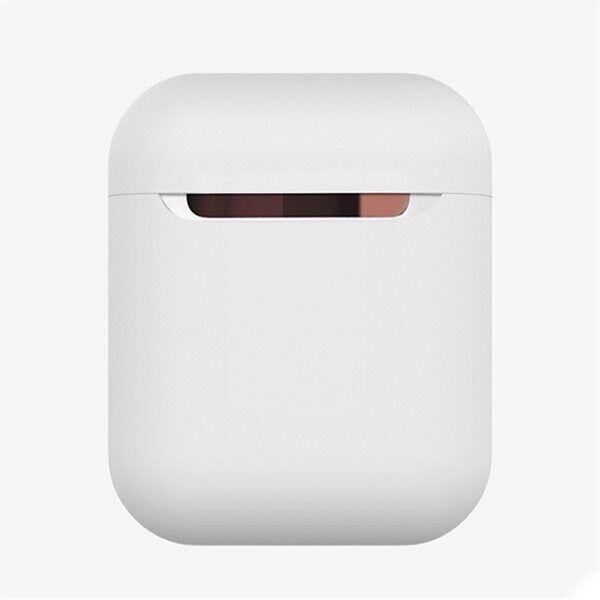 Apple Suojakotelo silikonia Apple AirPods 1 / 2 - Valkoinen