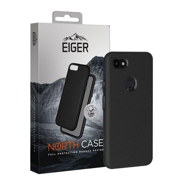 24hshop Eiger North Case Google Pixel 3a XL Musta