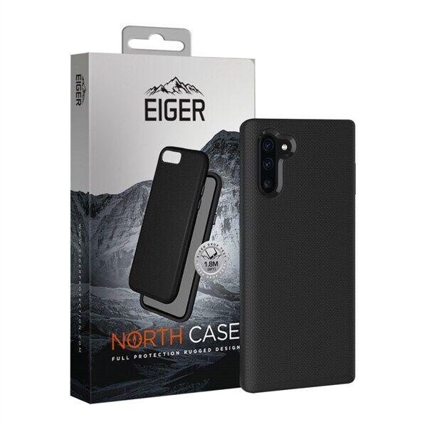 Eiger North Case Samsung Galaxy Note 10 Musta