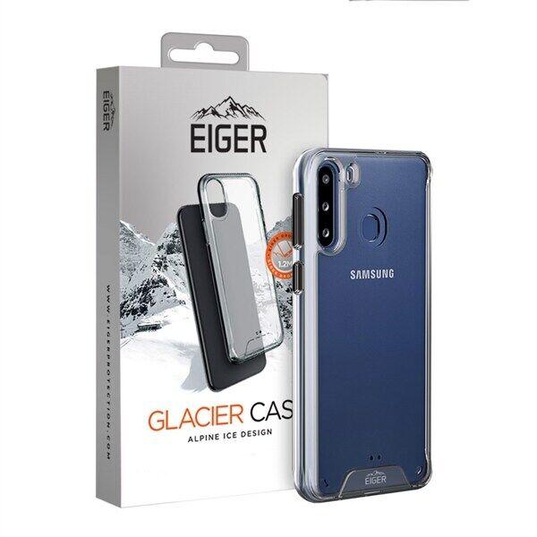 24hshop Eiger Glacier Case Samsung Galaxy A21 Kirkas