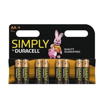 Duracell MN1500/LR6 AA 8-pakkaus