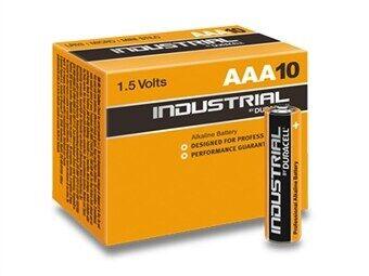 Duracell INDUSTRIAL MN2400/LR03 Micro AAA Akku 10-pakkaus