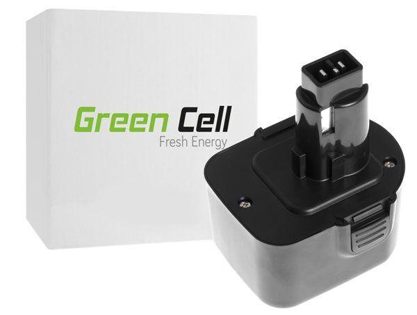 24hshop Green Cell työkaluakku PS130 DE9072 PS12VK Black & Decker FS12 DeWalt 2802K DC740