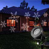 24hshop Projektorilamppu talon seinälle / Julkisivu valaistus
