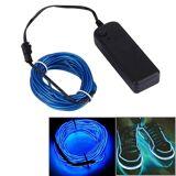 Paristokäyttöinen sininen LED-nauha 5 metriä