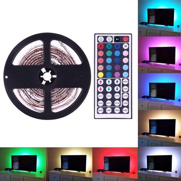 24hshop Tv Led-nauha kaukosäätimellä - 4X50cm