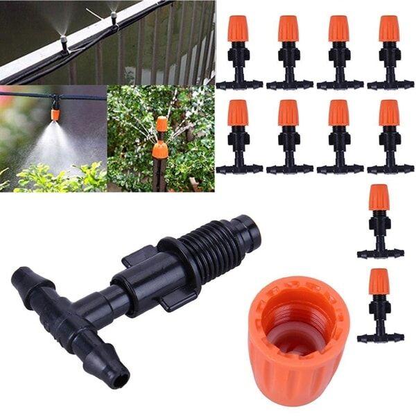 Kastelujärjestelmä 10kpl Spray-venttiiliä puutarhaan