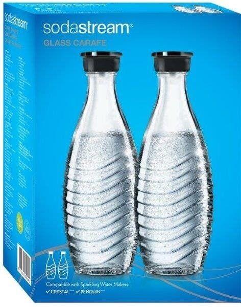 SodaStream DuoPack Lasikarahvi (2 x 0,6 L)