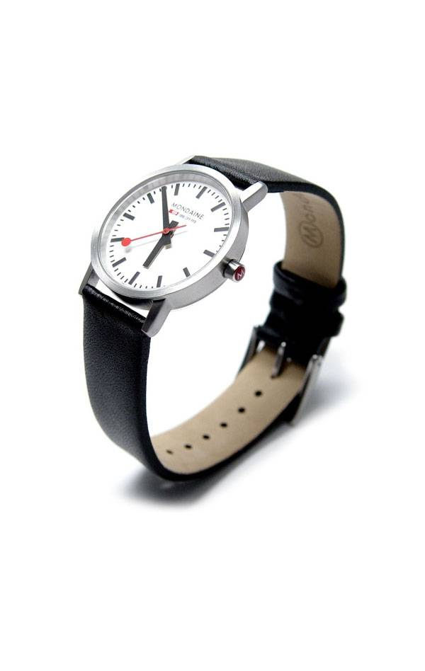 MONDAINE NEW CLASSIC BRUSHED/POLISHED, 30/36 mm