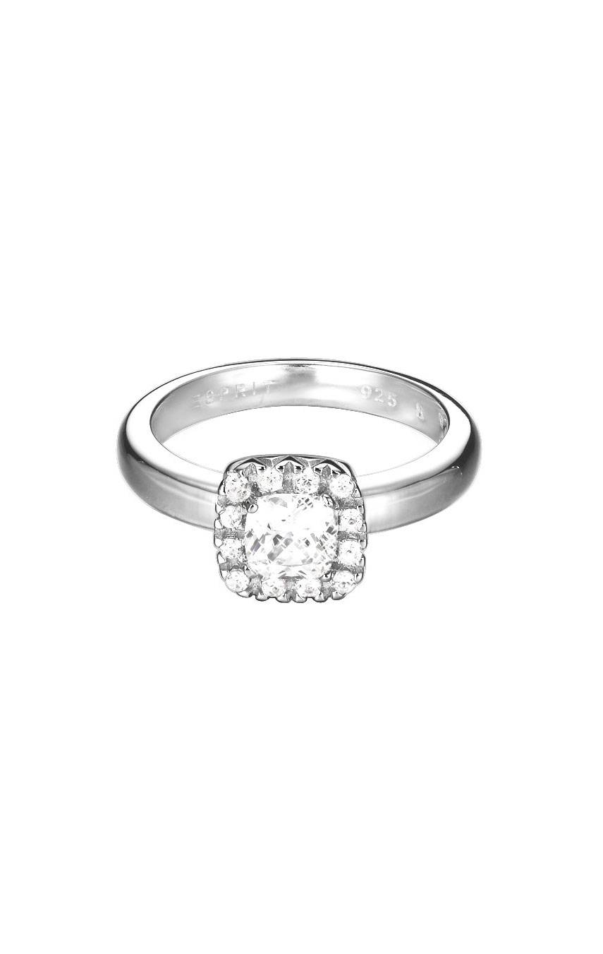 ESPRIT CUSHION SOLITARE RING ESRG92359B