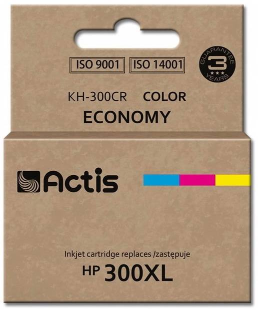 ACTIS ink and toner cartridgeKh-300cr Tri-Color Hp 300xl Cc644eeKh-300cr Tri-Color Hp 300xl Cc644ee