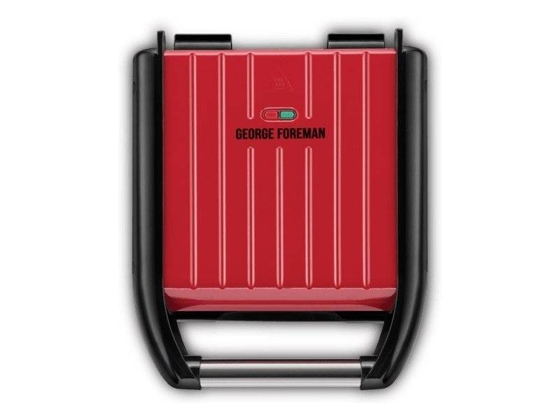 Russell Hobbs Gf Steel Grill Compact - Red