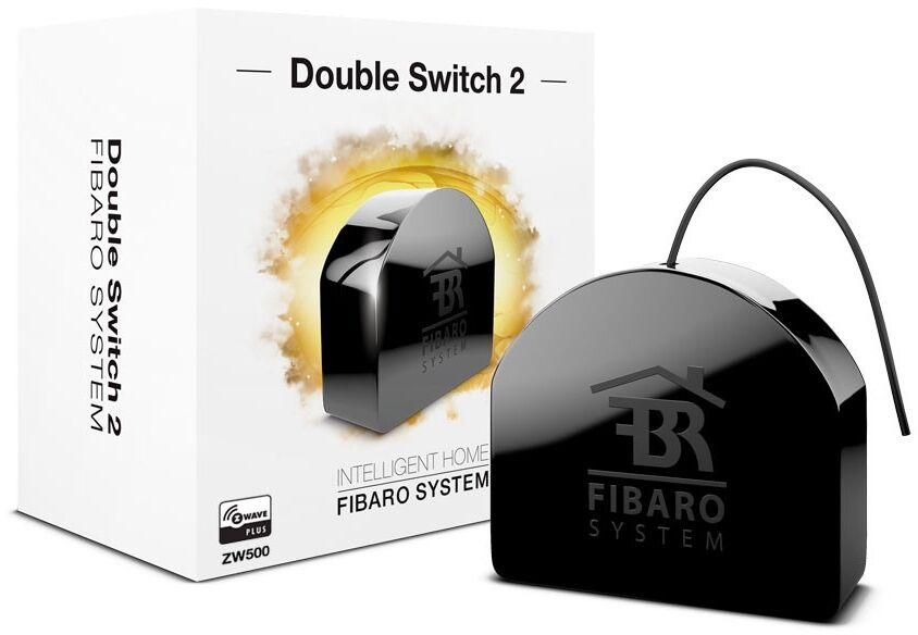 Fibaro Double Switch 2 Fgs-223 Black