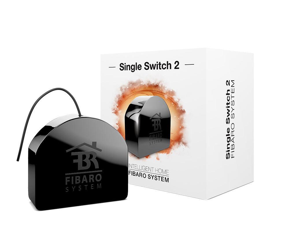 Fibaro Single Switch 2 Fgs-213 Black