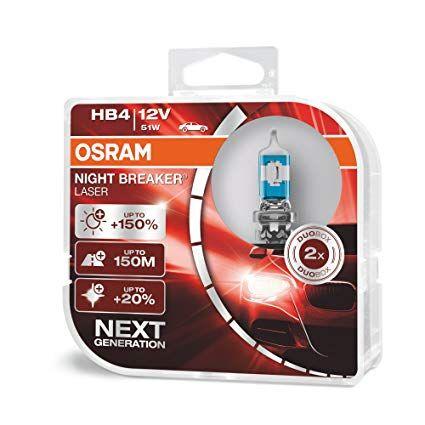 Osram Hb4 9006nl-Hcb 51w 12v P22d Night Breaker Laser