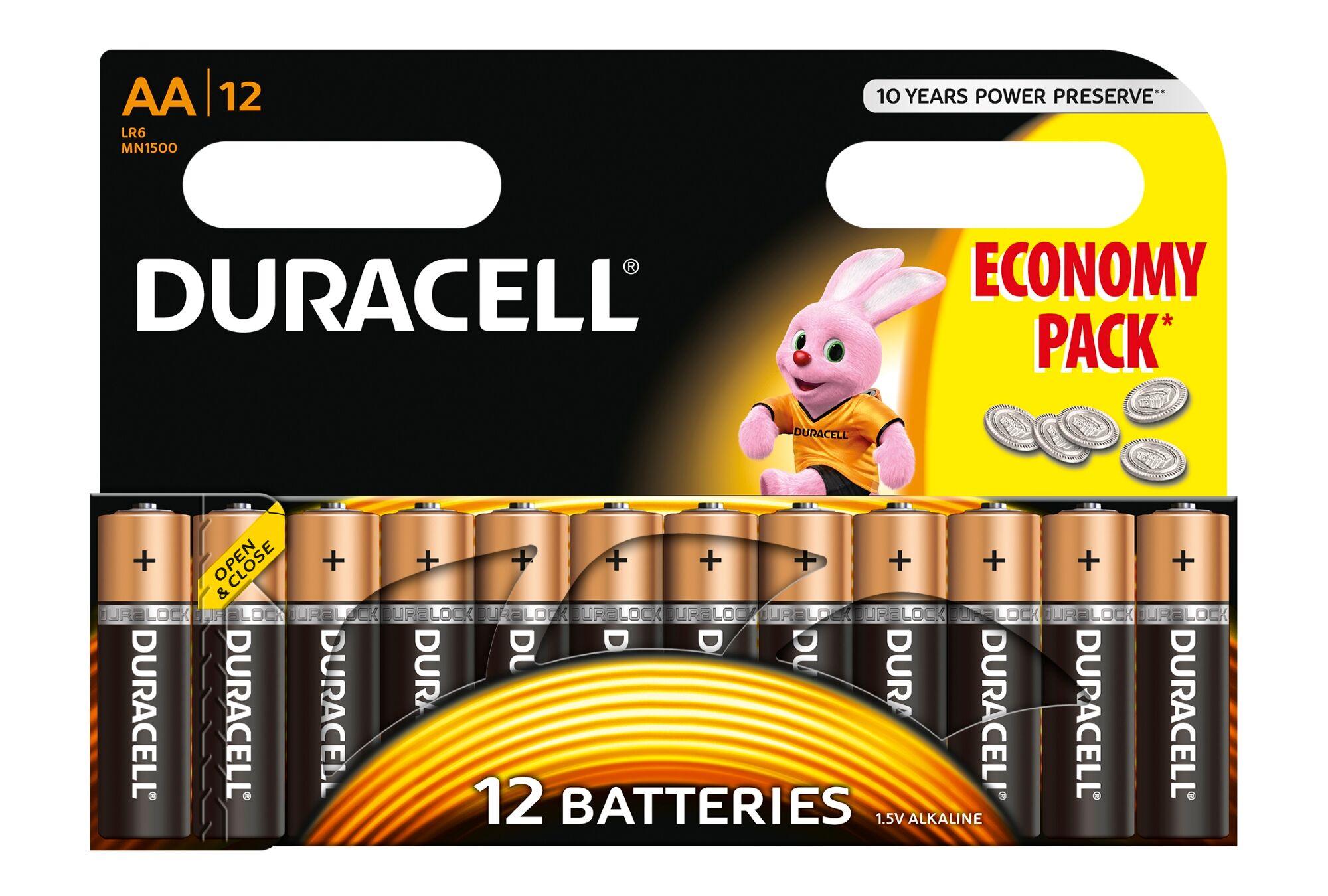 Duracell Mn1500 Basic Aa (Lr6) X12 (503911)