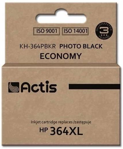 ACTIS ink and toner cartridgeKh-364pbkr Black Hp 364xl Cb322eeKh-364pbkr Black Hp 364xl Cb322ee