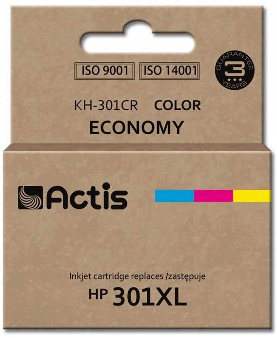 ACTIS ink and toner cartridgeKh-301cr Tri-Color Hp 301xl Ch564eeKh-301cr Tri-Color Hp 301xl Ch564ee