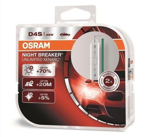 Osram D4s 66440xnb-Hcb 35w P32d-5 Hcb2 Night Breaker