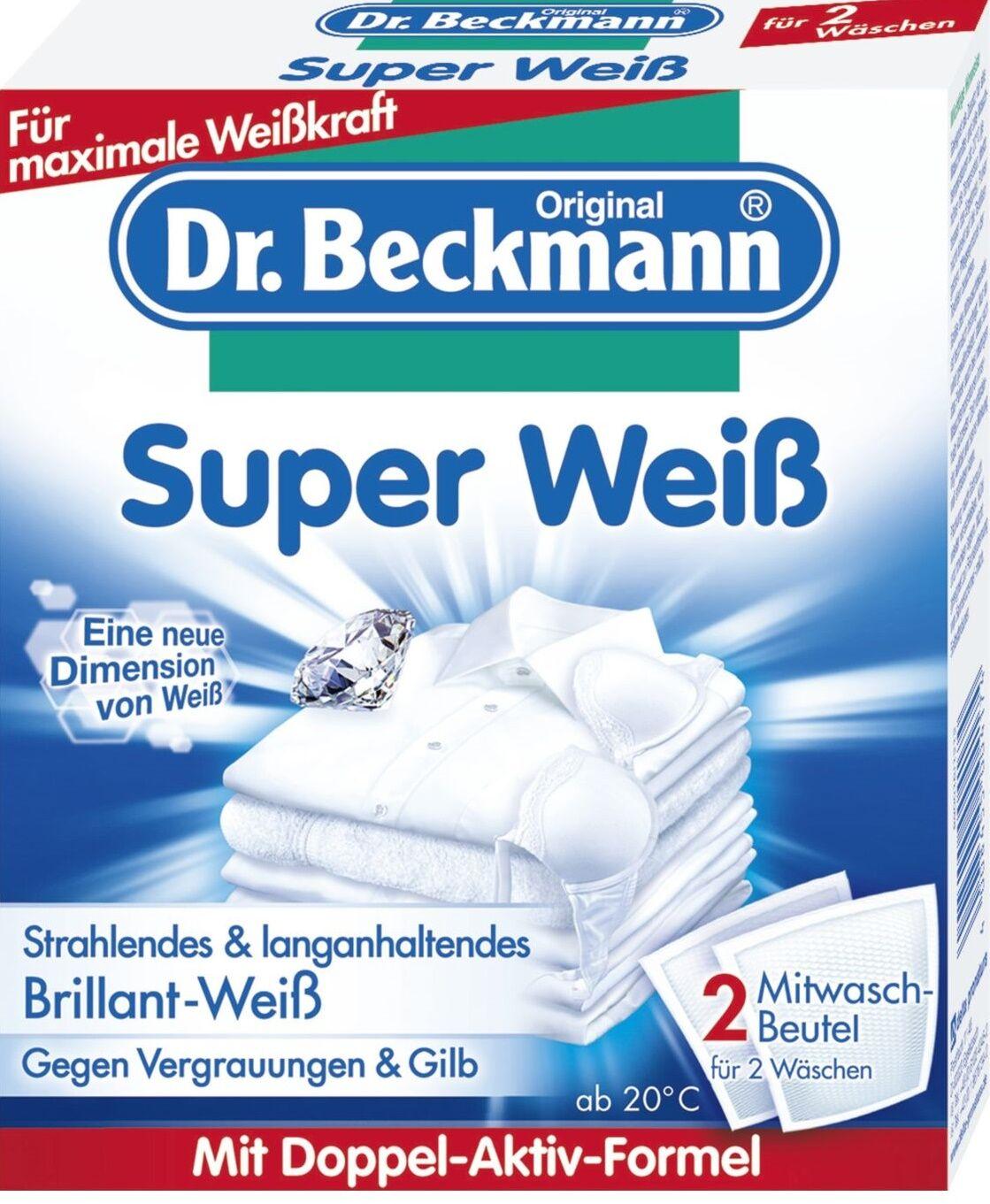 Dr. Beckmann Tahranpoistoaine Ja Valkaisuaine Samassa 2 X 40 G