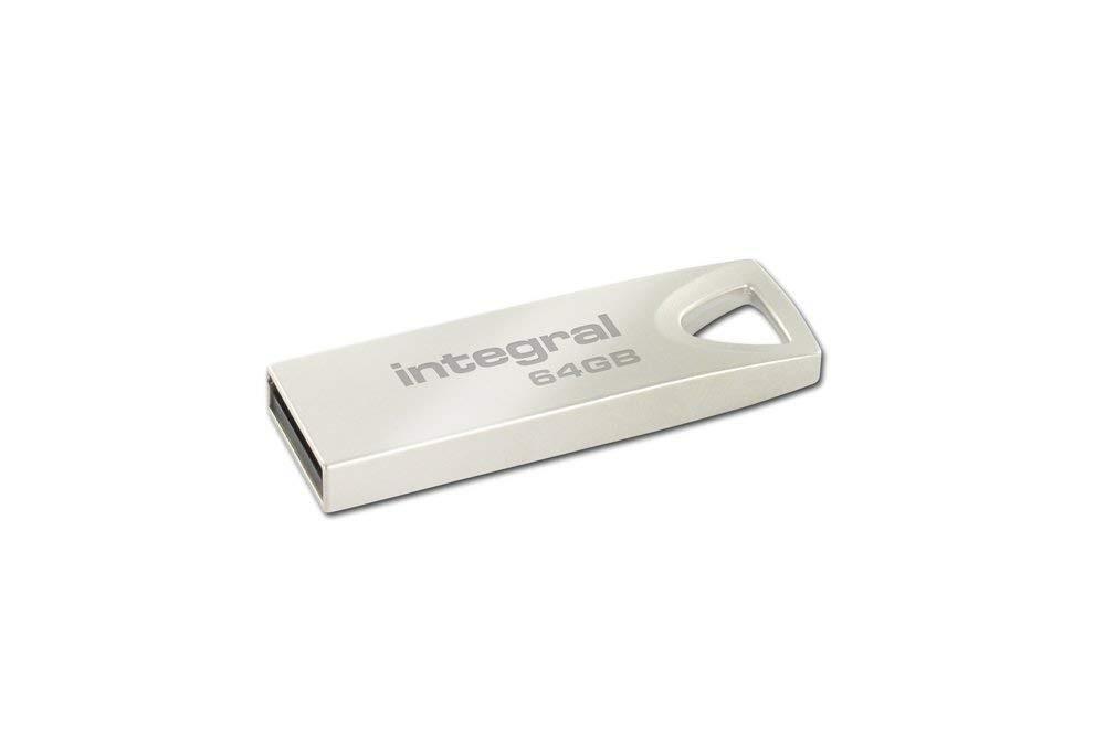 Integral Arc 64gb Metal Usb 2.0