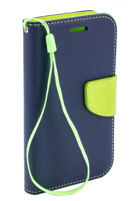 """Telone Fancy Diary Book Case Alcatel Idol 5"""" Blue/ Light Green"""