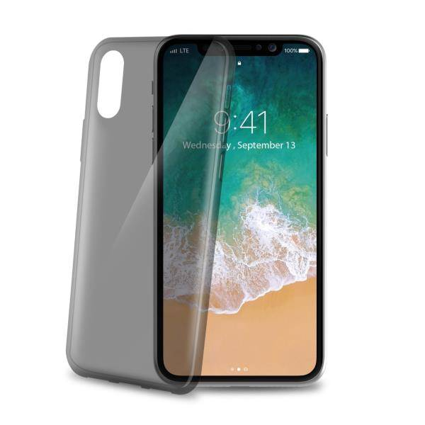 """Celly Ultrathin Back Case Iphone X"""" Black"""