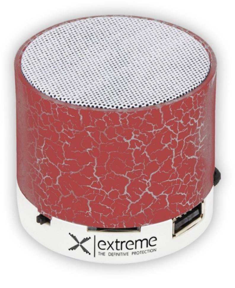 NILS Extreme Speakers Bluetooth Xp101r Red
