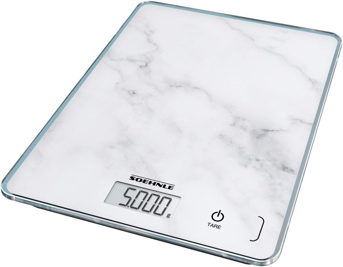 Soehnle keittiövaaka Page Compact 300 Marble