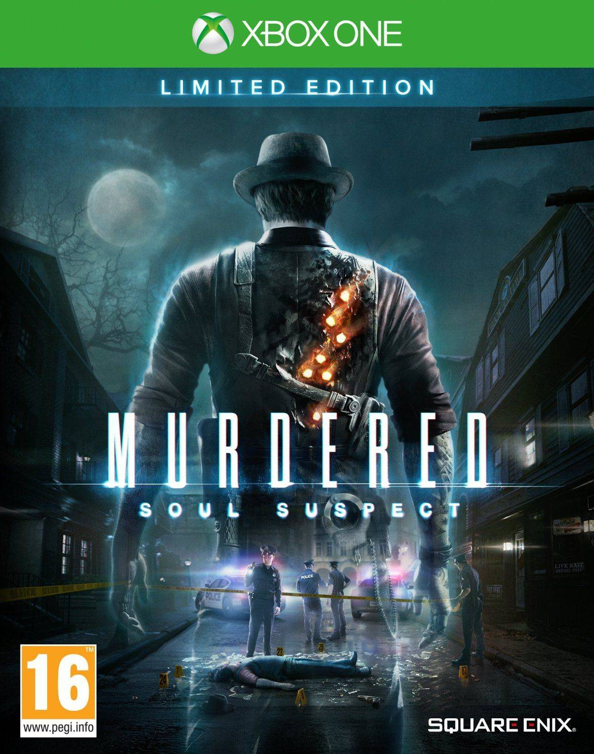 Square Enix Murdered: Soul Suspect Limited Edition Xbox One