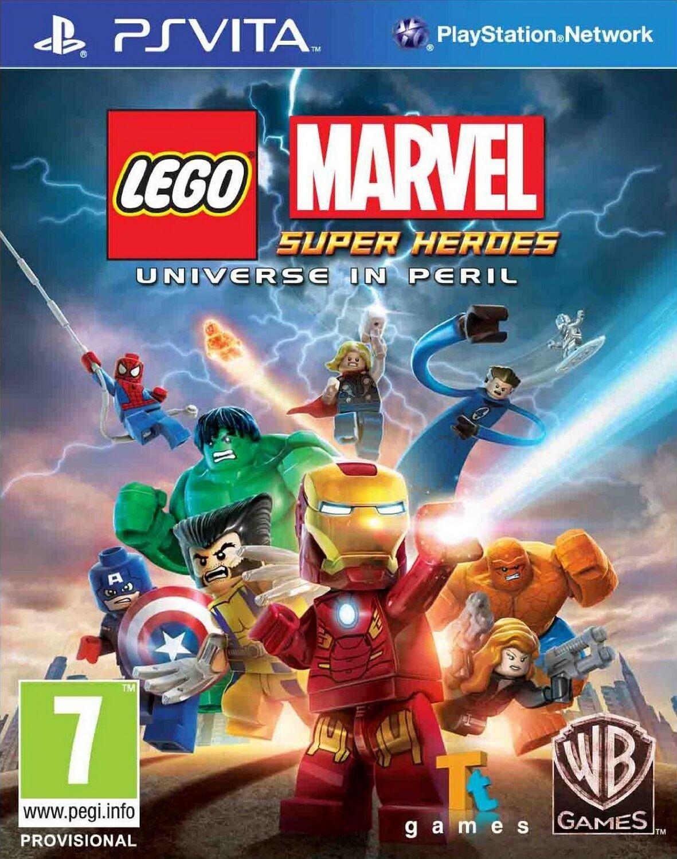 Warner Bros. peli Lego Marvel Super Heroes: Universe In Peril Psv