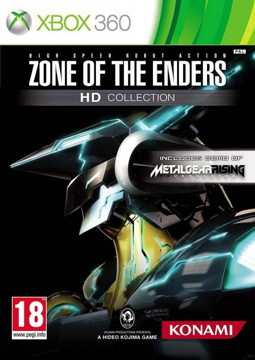 Konami peli Zone Of The Enders Hd Collection - Xbox One Compatible Xbox 360