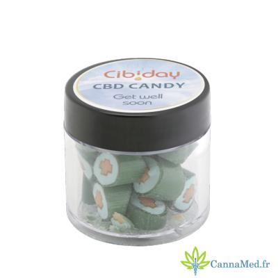 Cibiday Bonbons au CBD et aux Plantes Médicinales de Cibiday