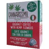 Cannabissimo Capsules de café au CBD Cannabissimo (compatibles Nespresso)