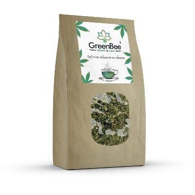 GreenBee Infusion de Chanvre biologique GreenBee (40 grammes)