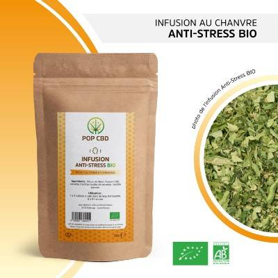 Pop CBD Infusion de Chanvre ANTI-STRESS (Pop CBD)