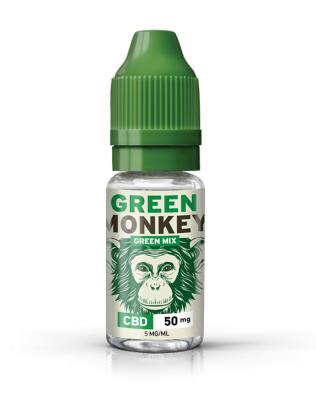 Green Monkey E-liquide CBD Green Mix de Green Monkey (Savourea)