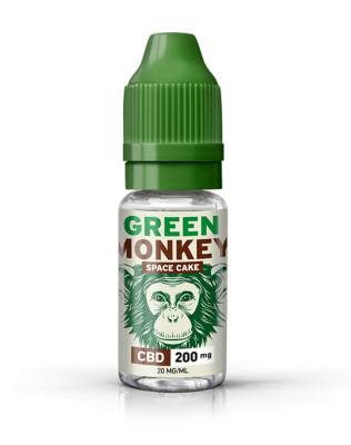 Green Monkey E-liquide CBD 200 mg Space Cake de Green Monkey (Savourea)