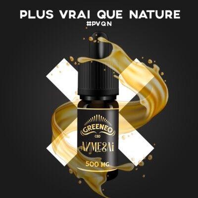 Greeneo E-liquide au CBD 500 mg Full Spectrum - AMNESAI (Greeneo)