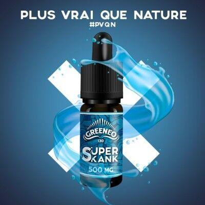 Greeneo E-liquide au CBD SUPER SKANK- Full Spectrum (Greeneo)