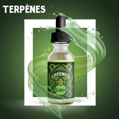 Greeneo E-liquide CBD OG Kush (Greeneo)
